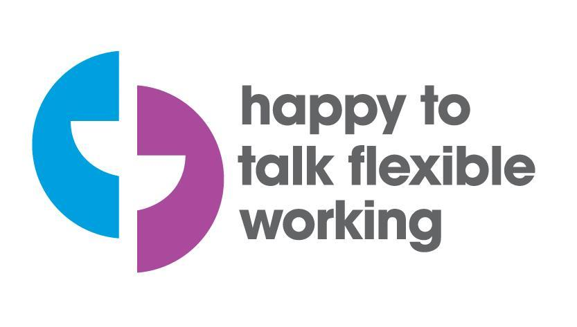 Happy to talk flexible working